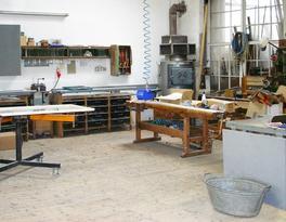 Die Werkstatthalle